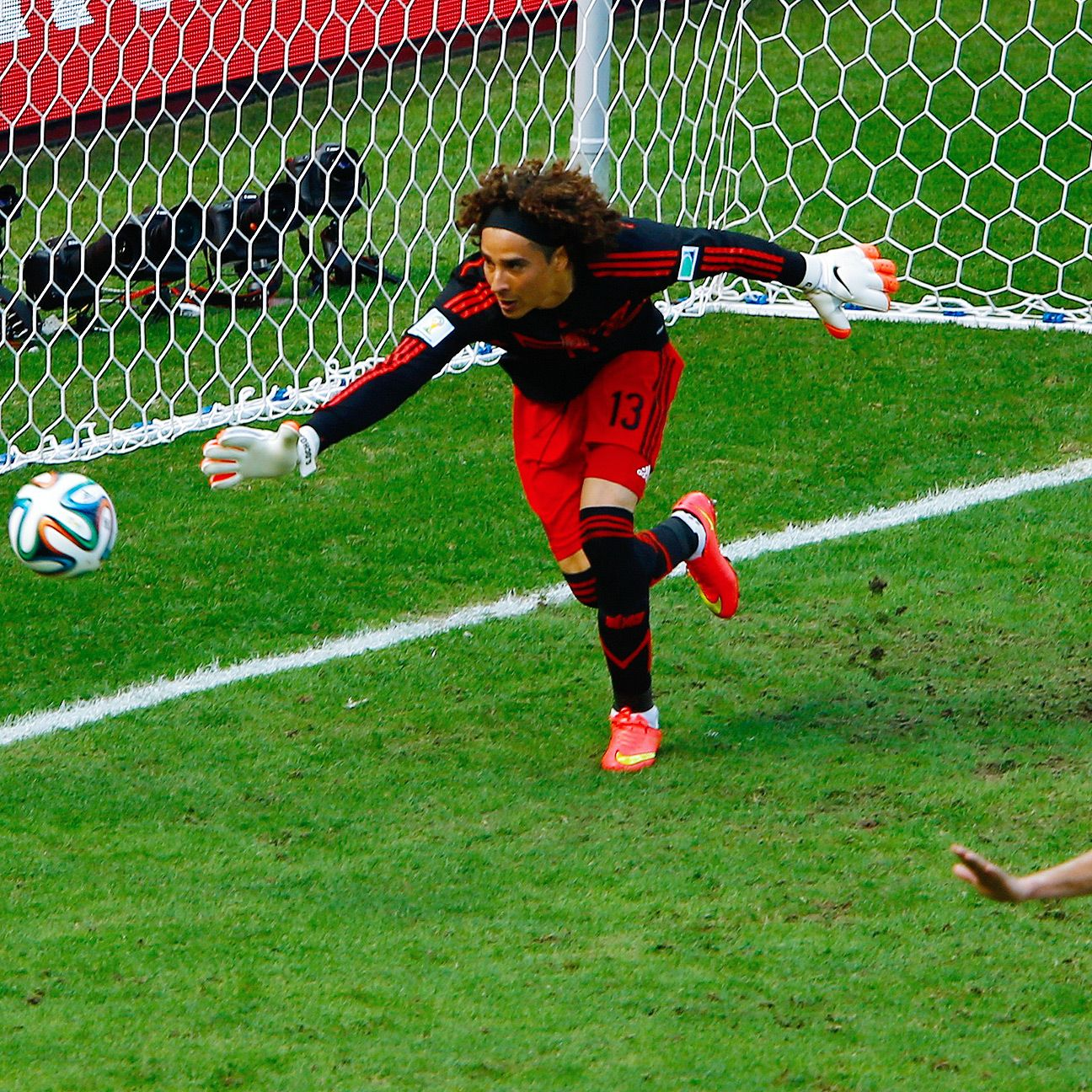 Guillermo Ochoa has once again been handed the reins in goal for Mexico.