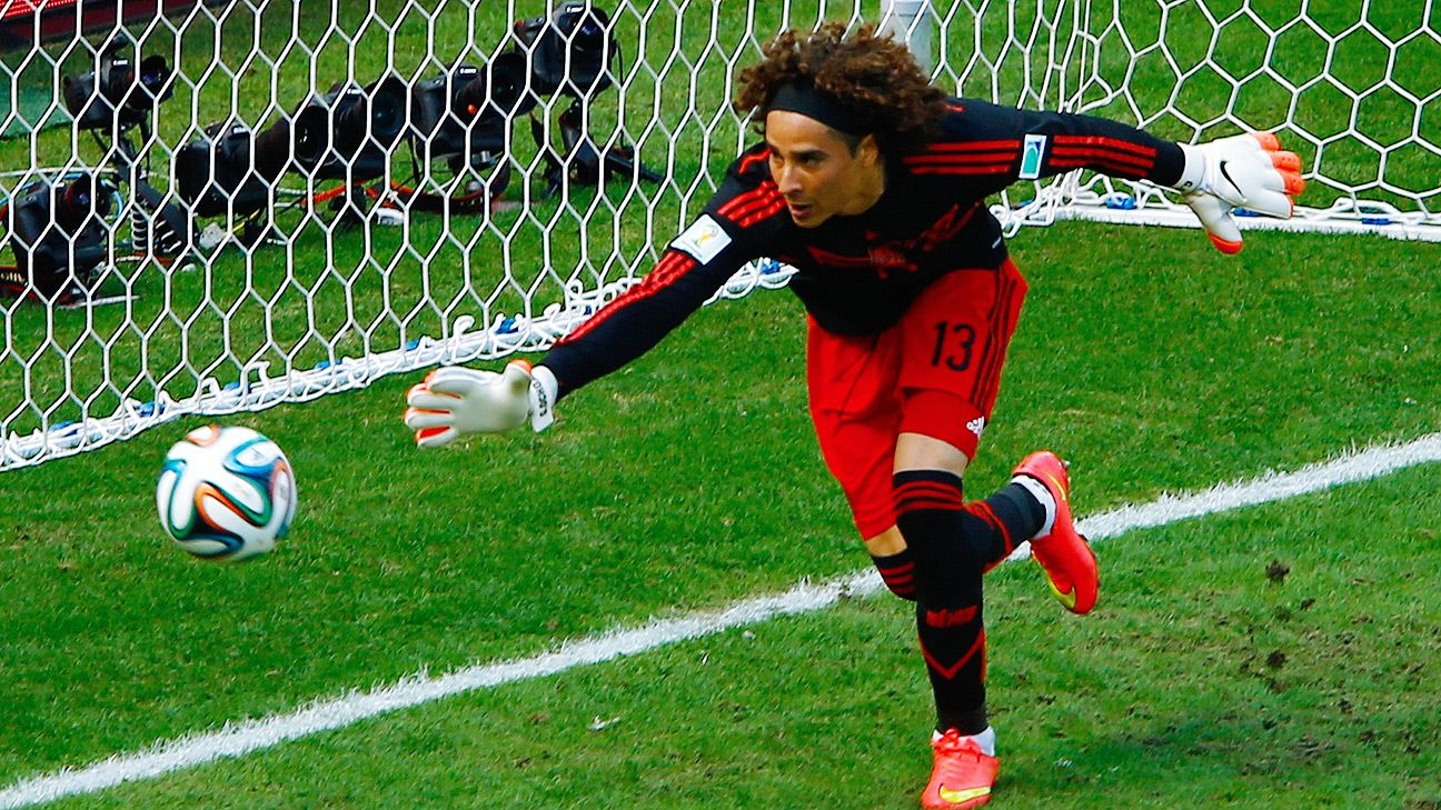 Guillermo Ochoa's heroics in goal were not enough to fend off the Netherlands.
