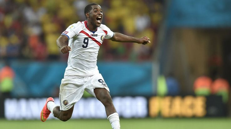 Joel Campbell's goals vs. Uruguay set the tone for an unforgettable World Cup campaign.