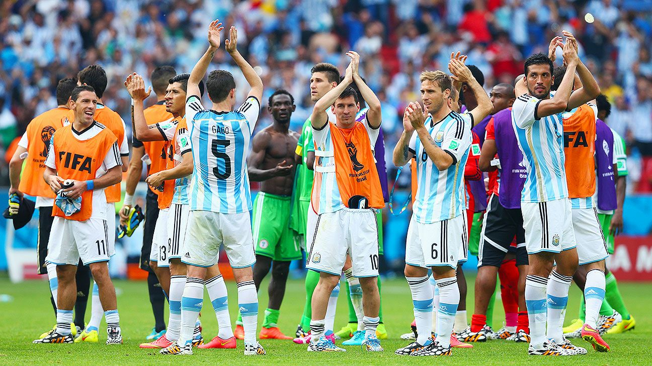 If Argentina win it all in Brazil, they wouldn't be the first champion to start slowly and improve with every game.
