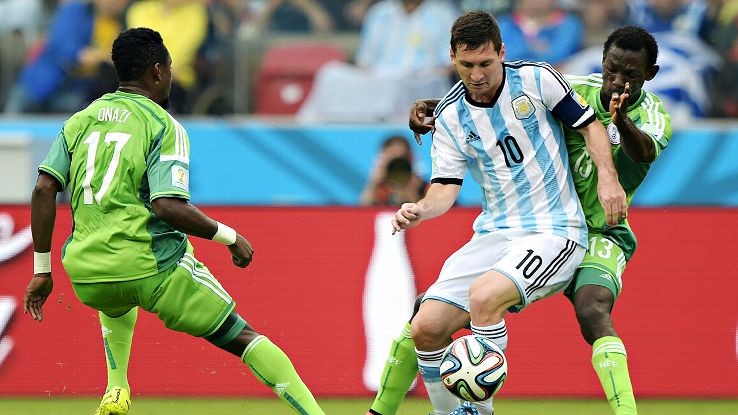 Messi's form in Brazil has been stellar. Can Belgium shut him down?