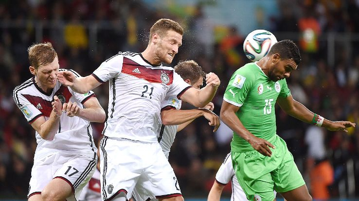 It wasn't pretty, but Germany managed to find a way past Algeria in their second round tilt on Monday.