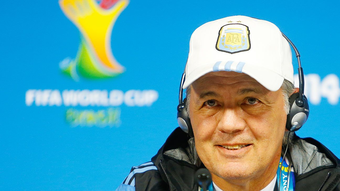 Alejandro Sabella's Argentina side has yet to show its true force, but the manager isn't concerned about its progress.