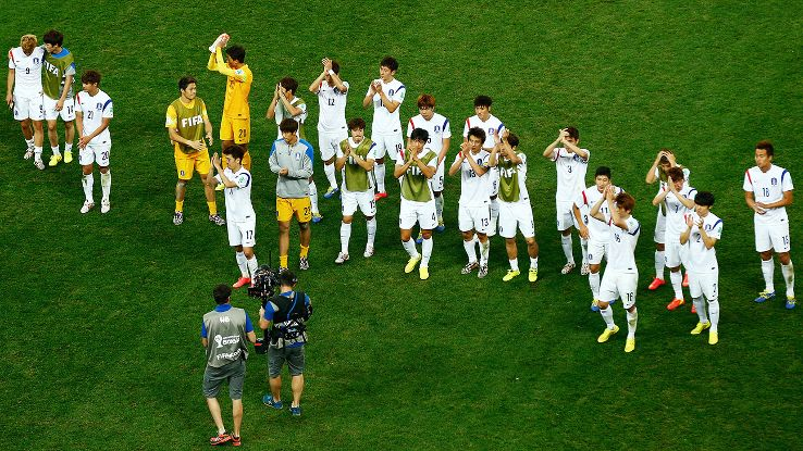 South Korea's 2014 World Cup campaign ended in disappointment.