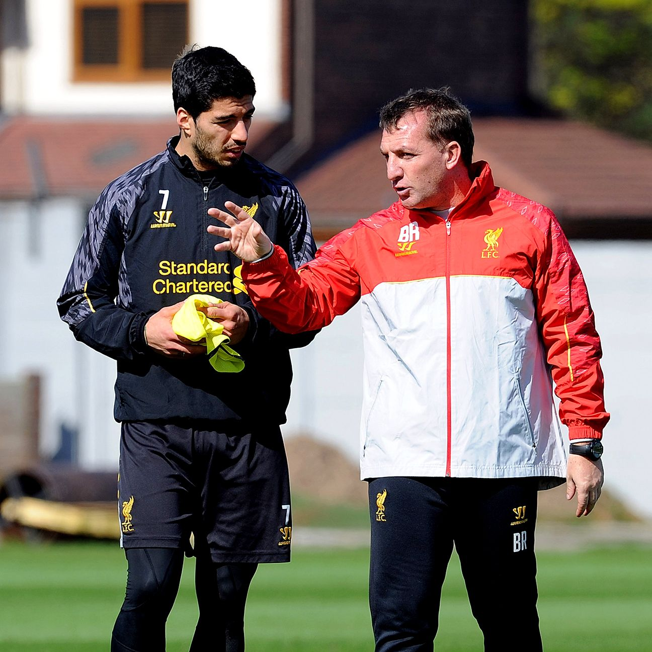 Liverpool manager Brendan Rodgers will be without the services of Suarez for the club's first 13 matches this coming season.