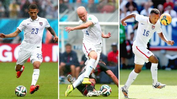 What roles will Fabian Johnson, Michael Bradley and Julian Green play for the U.S. in 2015 and beyond?