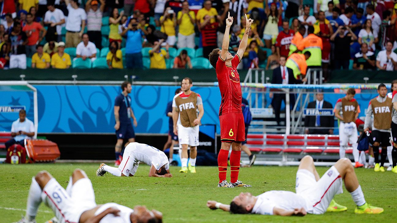 Belgium outlasted the U.S. for their round of 16 win, though it still wasn't perfect.