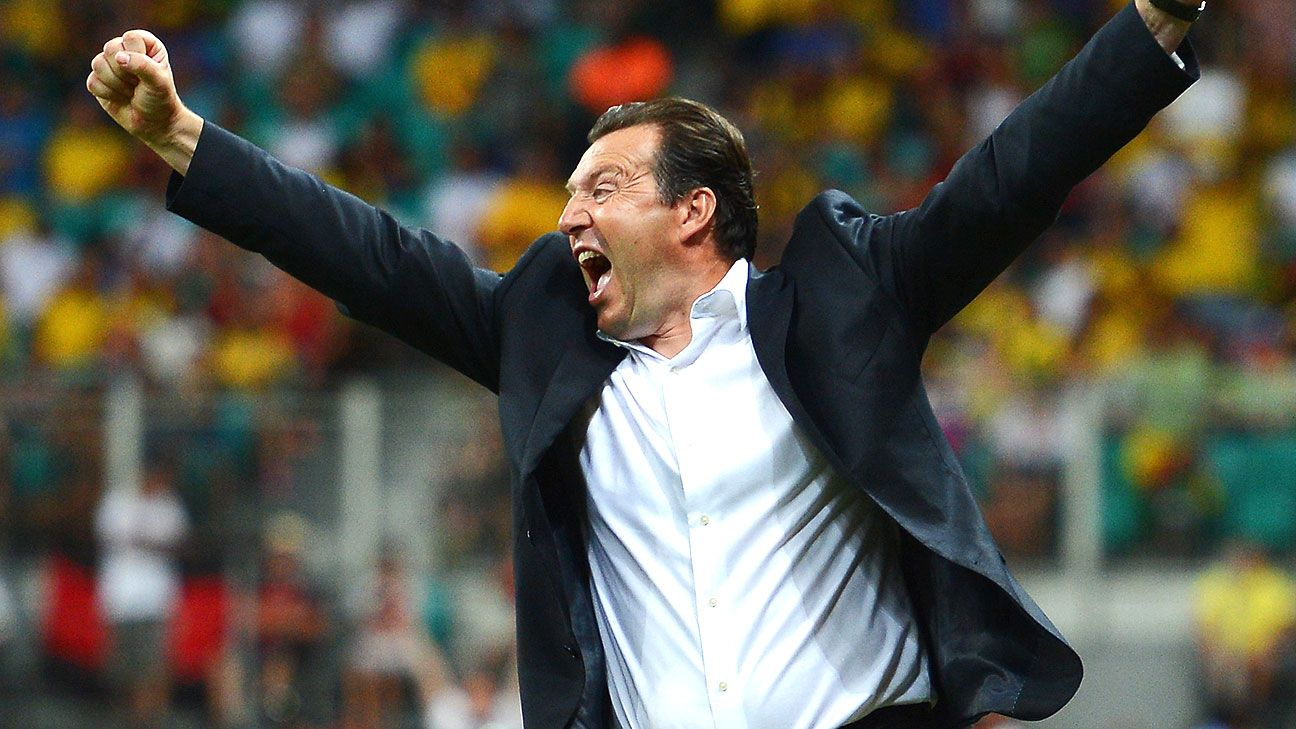 Marc Wilmots deserved his chance to gloat to reporters after Belgium's win, but there's still work to do.