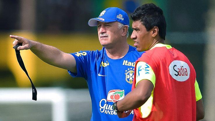 Luiz Felipe Scolari has always trusted Paulinho in midfield, but the pressure's on the Tottenham man to excel vs. Colombia.