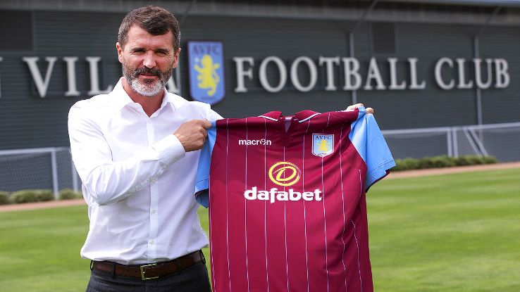 Roy Keane joins Aston Villa as the right-hand man to manager Paul Lambert.