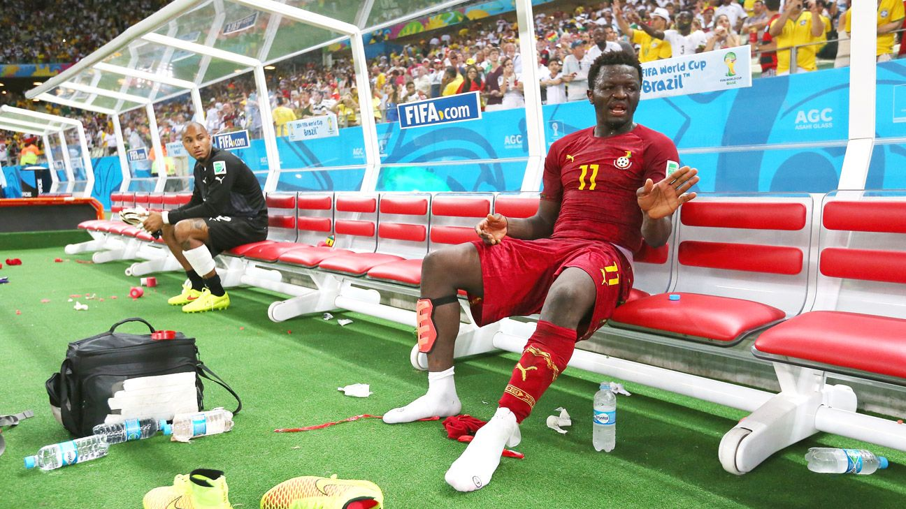 Sulley Muntari was sent home early from Ghana's World Cup campaign.