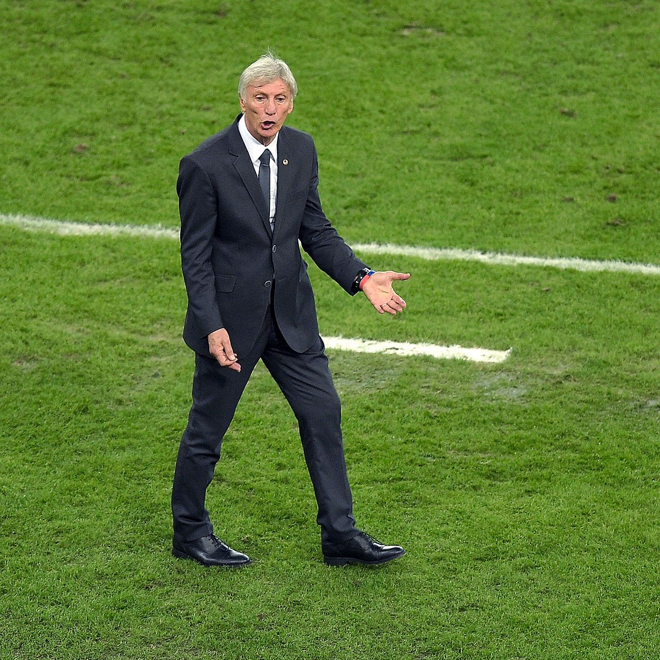 Jose Pekerman's Colombia meet Brazil in the World Cup quarterfinals.