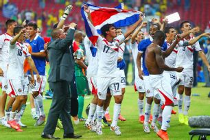Costa Rica's progress through the World Cup is close to unprecedented.