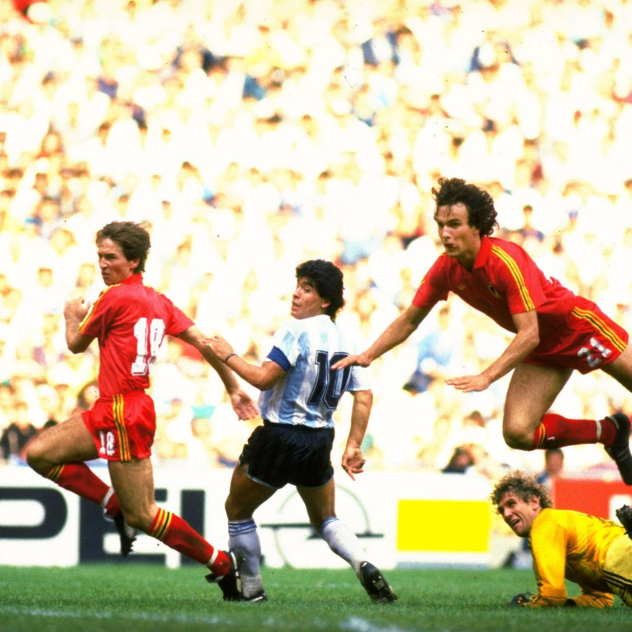 Belgium last squared off against Argentina in a World Cup in 1986 when they were defeated by a Diego Maradona-led Albiceleste.