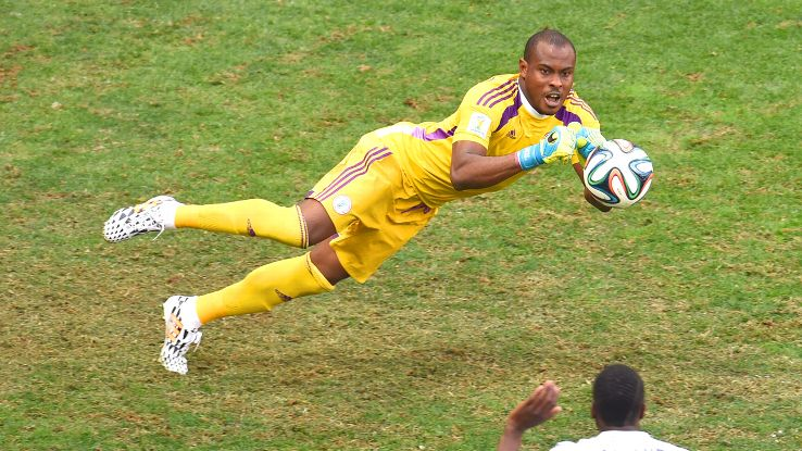 Vincent Enyeama was exceptional for Nigeria, despite a round of 16 defeat to France.