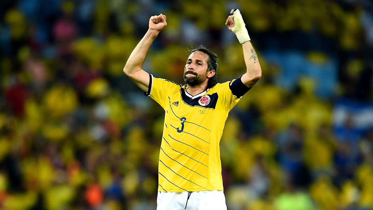 Mario Yepes has been superb for Colombia but his lack of mobility is a concern vs. Brazil.