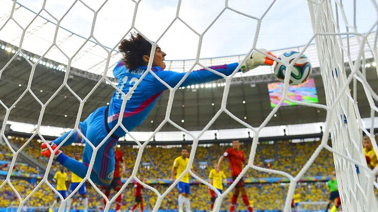 Guillermo Ochoa has excelled for Mexico between the posts, one of a few goalkeeping discoveries.