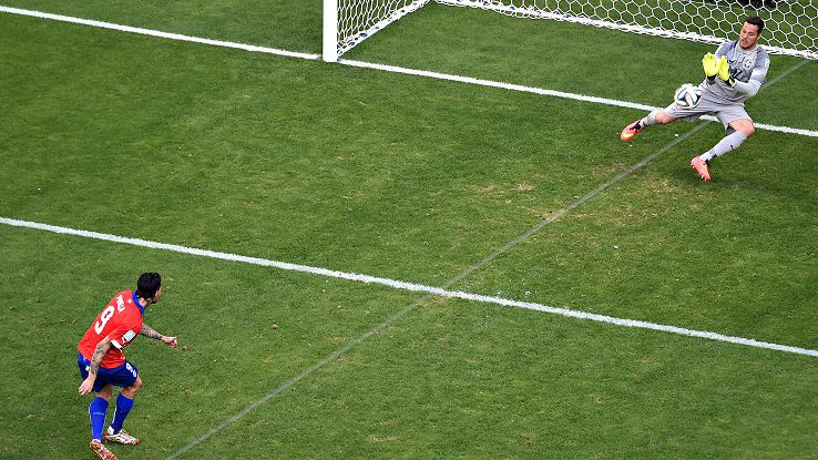 Though all eight group winners are still in, small margins like Mauricio Pinilla's misses vs. Brazil could have swung things dramatically.