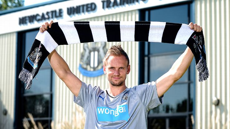 Siem de Jong is Newcastle's third signing of the summer.