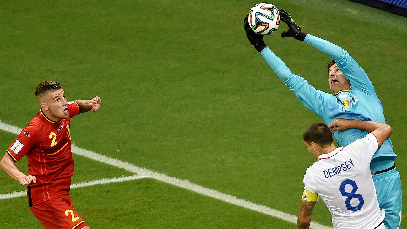 Thibaut Courtois' rise is made all the more impressive by the fact that he's only 22.