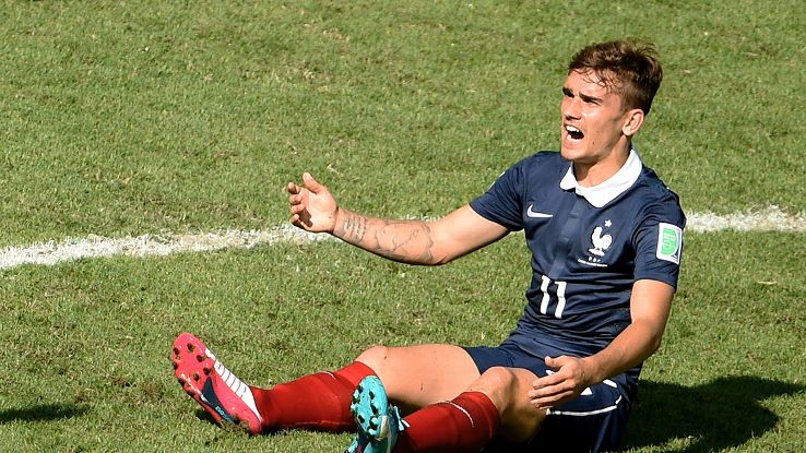 The French were stymied as everyone at the Maracana endured a difficult afternoon.