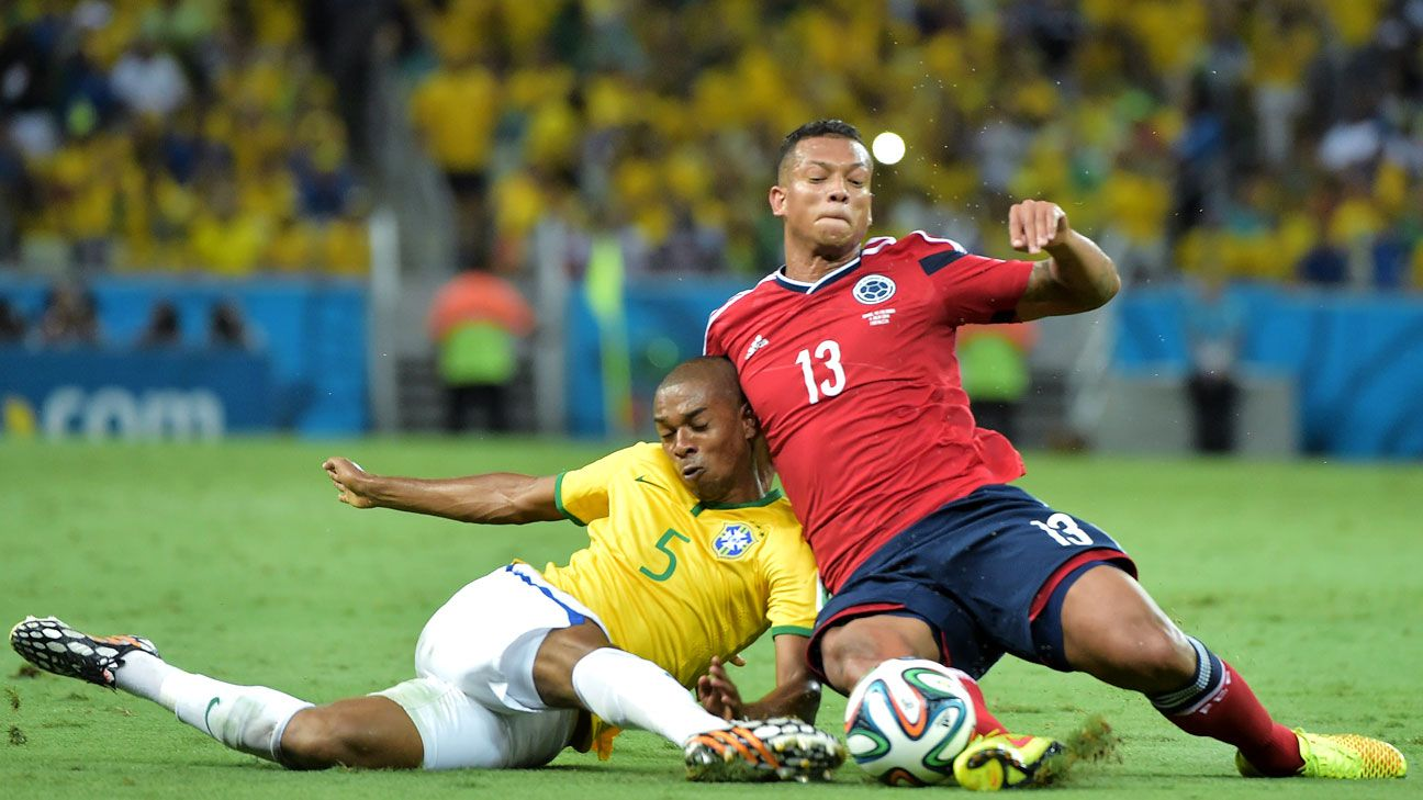 There was little complaint in Brazil about the number of fouls or the Selecao's overall plan vs. Colombia.