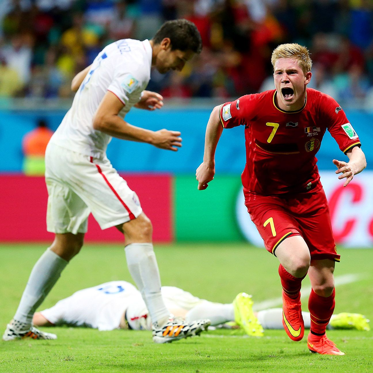 De Bruyne has been trusted to play a crucial role for Belgium and so far, he's repaid that faith.