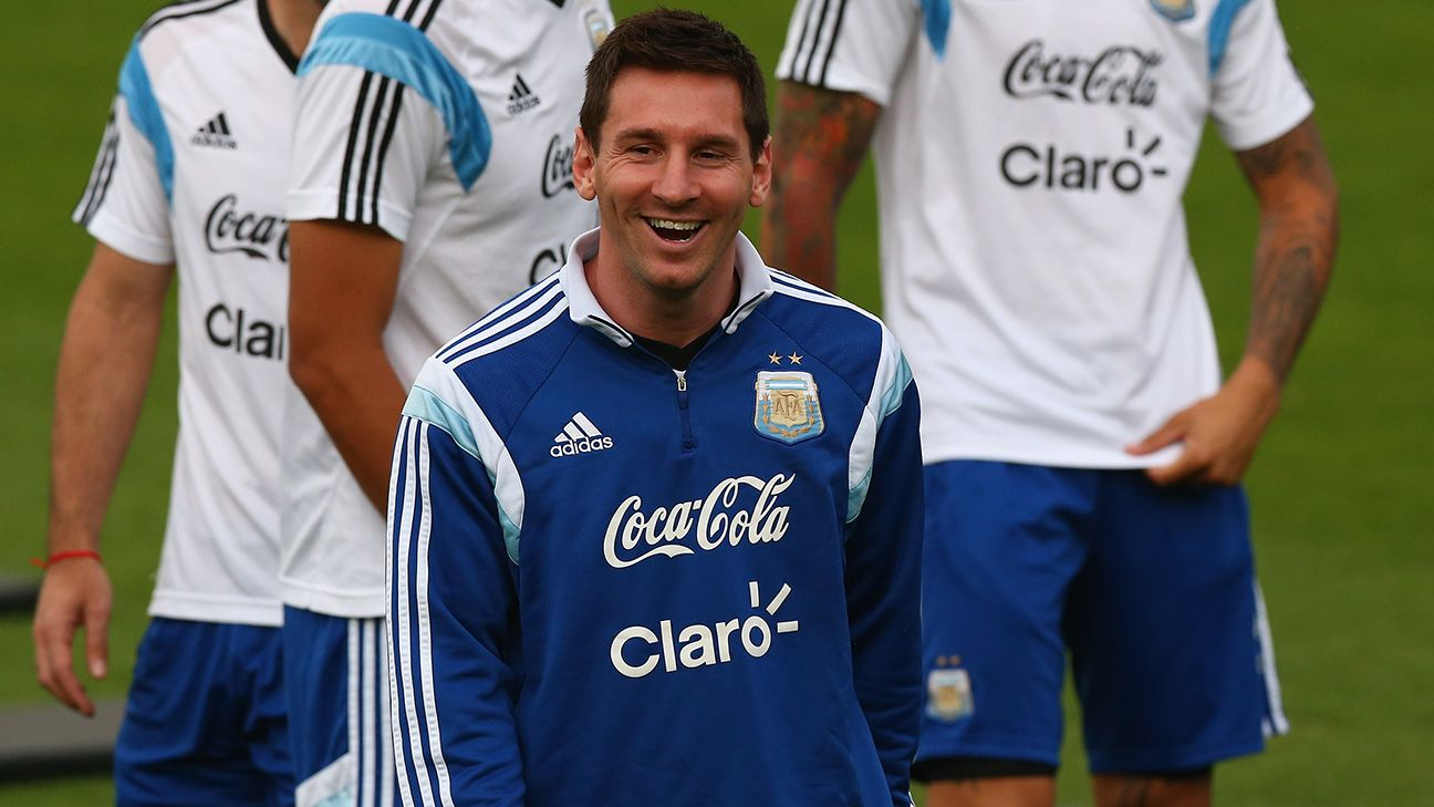 Messi's superb form at the 2014 World Cup gives him a good chance of pulling Argentina to victory.
