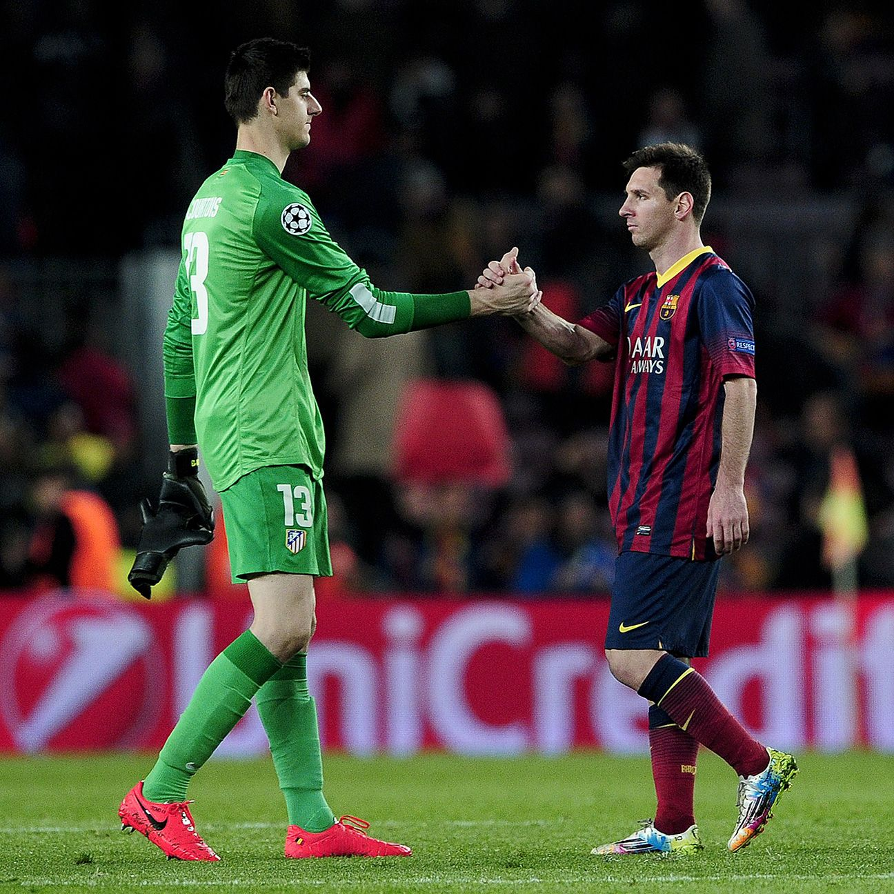 Messi has been largely unable to beat Courtois but how much of that is down to the goalkeeper?