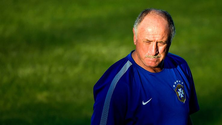 Scolari's feeling the pressure ahead of a career-defining meeting with Colombia.