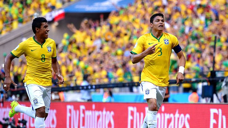 Fans came away from Brazil's 2-1 win over Colombia feeling bullish about facing Germany.