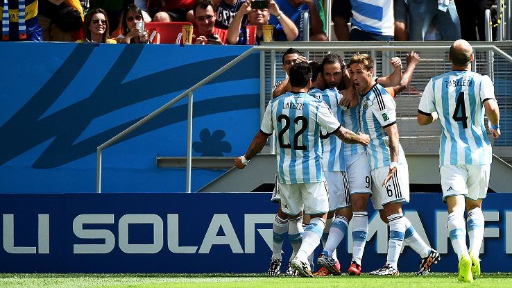 Argentina snapped their quarterfinal jinx with a 1-0 win over Belgium on Saturday.