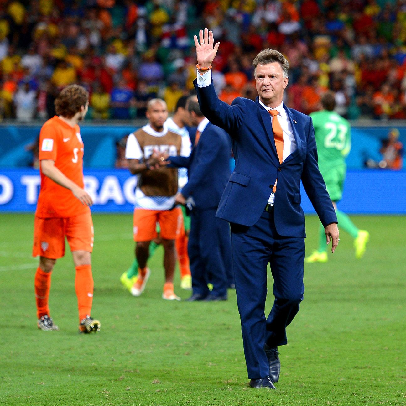 Louis van Gaal's trickery worked against Costa Rica. What will he scheme in order to stop Lionel Messi and Argentina?
