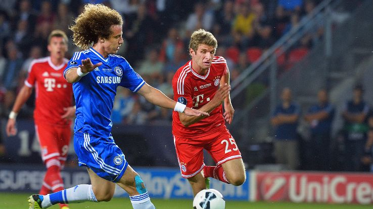 Thomas Muller and David Luiz are polar opposites and should enjoy quite an entertaining individual battle.