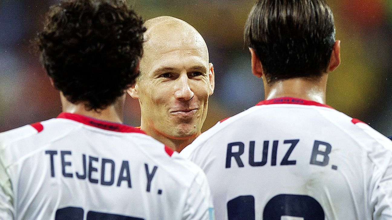 Arjen Robben's acceleration and canny positioning will test Argentina to the fullest.