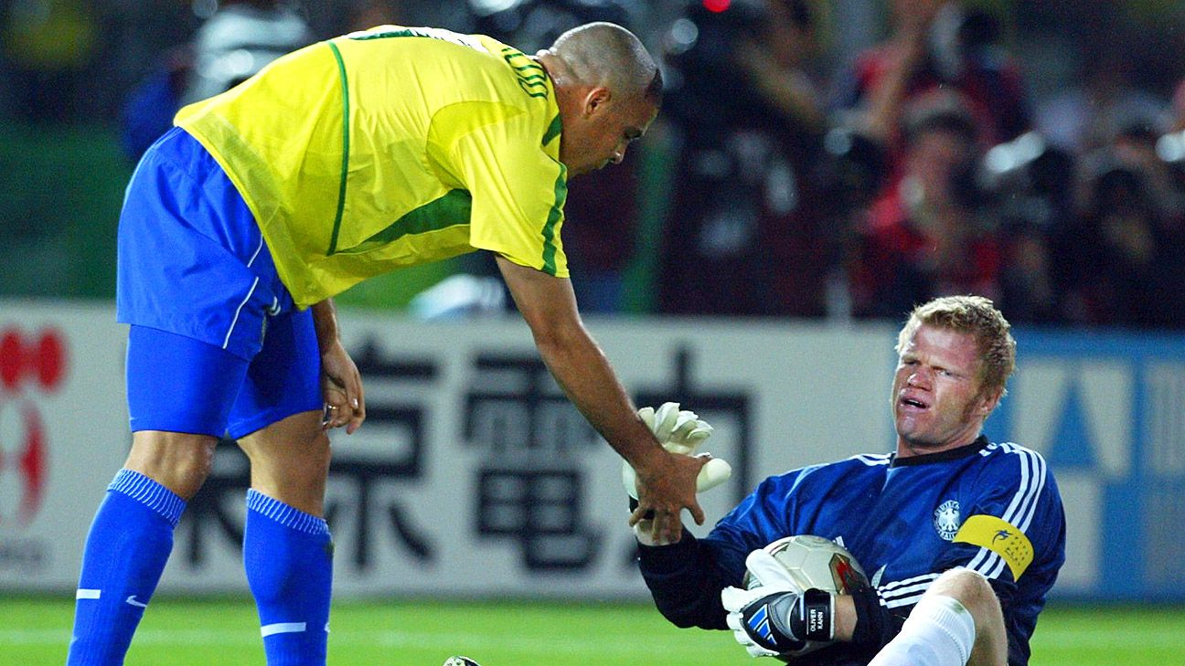 Brazil and Germany will meet for the second time in a competitive game. Their first? The 2002 World Cup final.