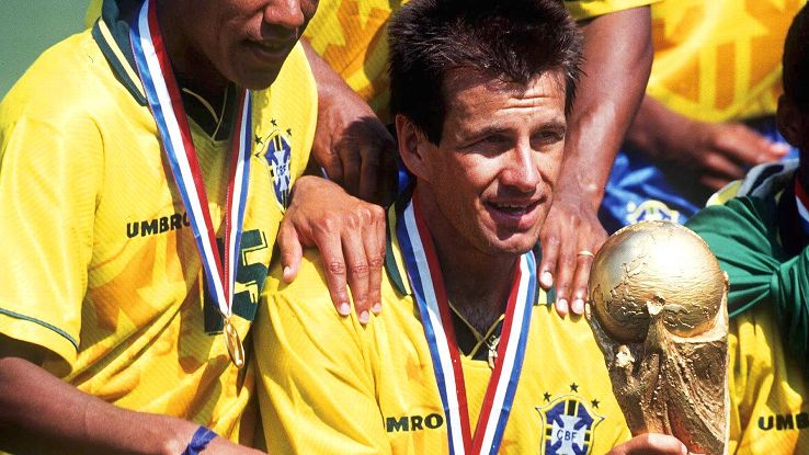 Dunga, also of Brazilian and German descent, lifted the World Cup with the Selecao in 1994.