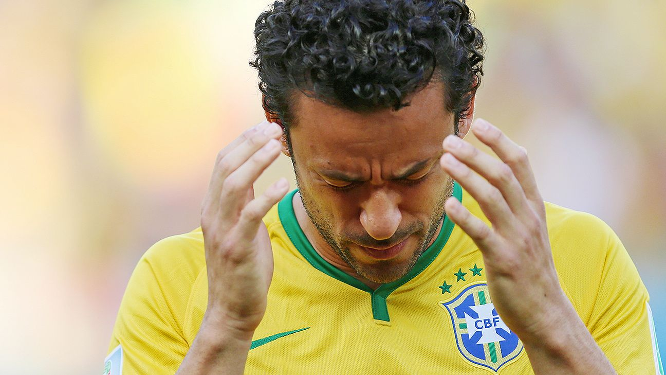 Fred has been the subject of criticism in the Selecao.