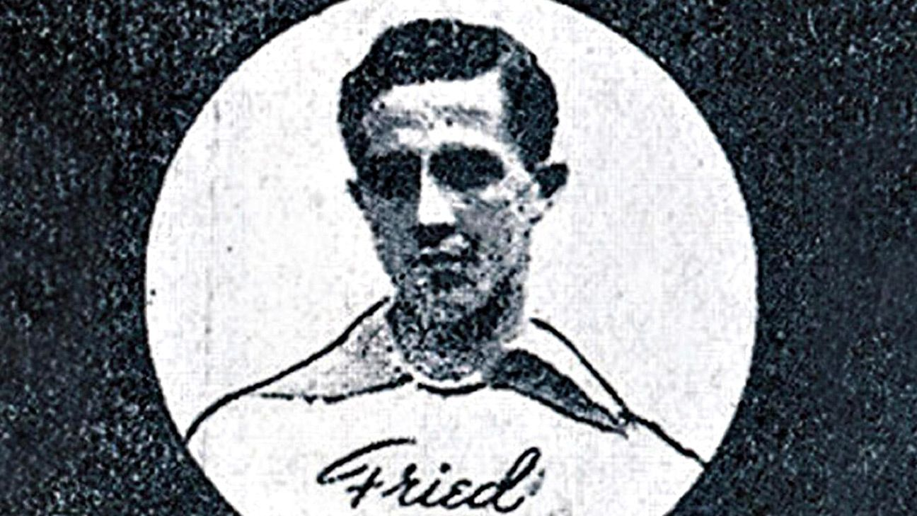 Arthur Friedenreich, son of a German man and Brazilian woman, was one of the Selecao's first soccer stars.