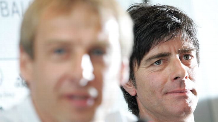 One criticism against Klinsmann is his need for assistants in charge of team tactics, like Jogi Low.
