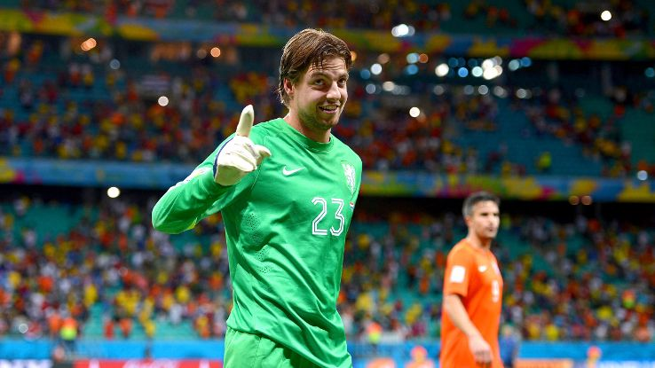 Tim Krul's swagger was enough to make Louis van Gaal and the Netherlands look good.