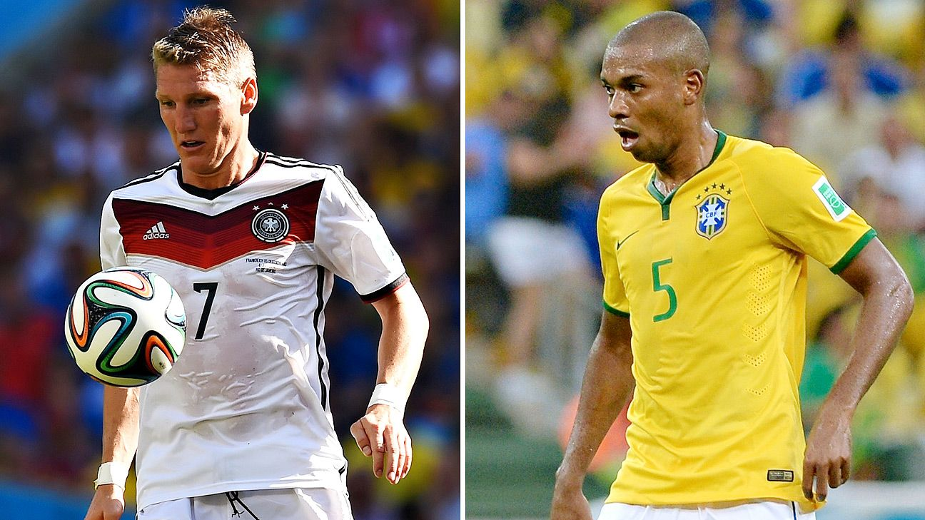 When Germany and Brazil meet, their styles won't be as contrasting as you'd think.