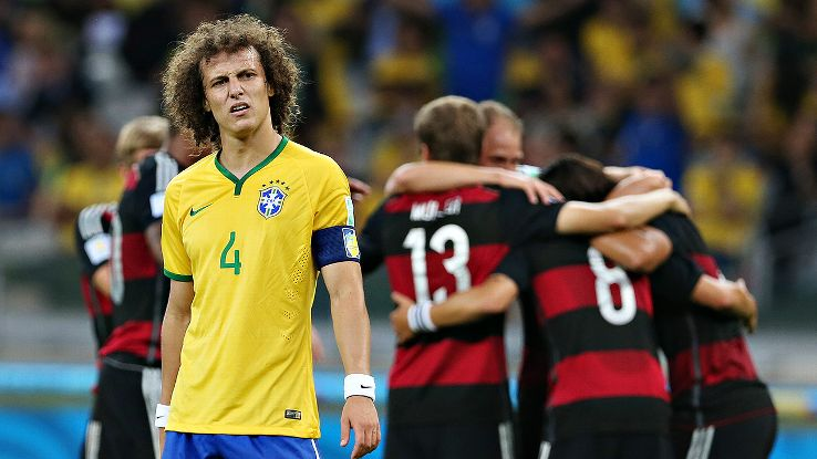 David Luiz's post-game apologies couldn't soften the blow of an epic defeat.
