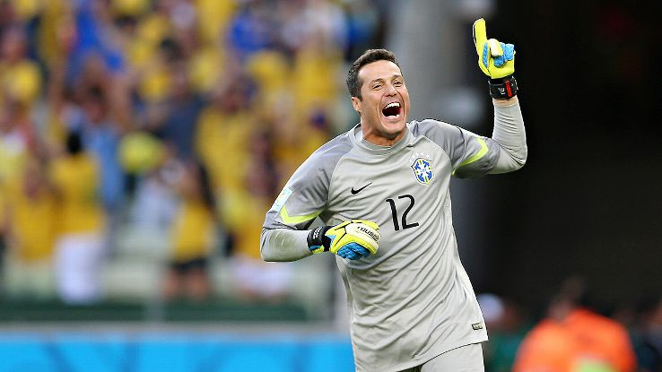 Julio Cesar has had a decent World Cup but is too old to lead Brazil forward.