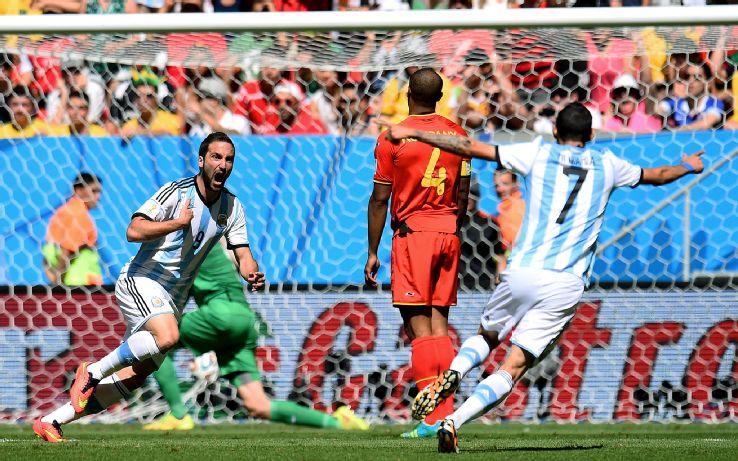 Belgians Beaten