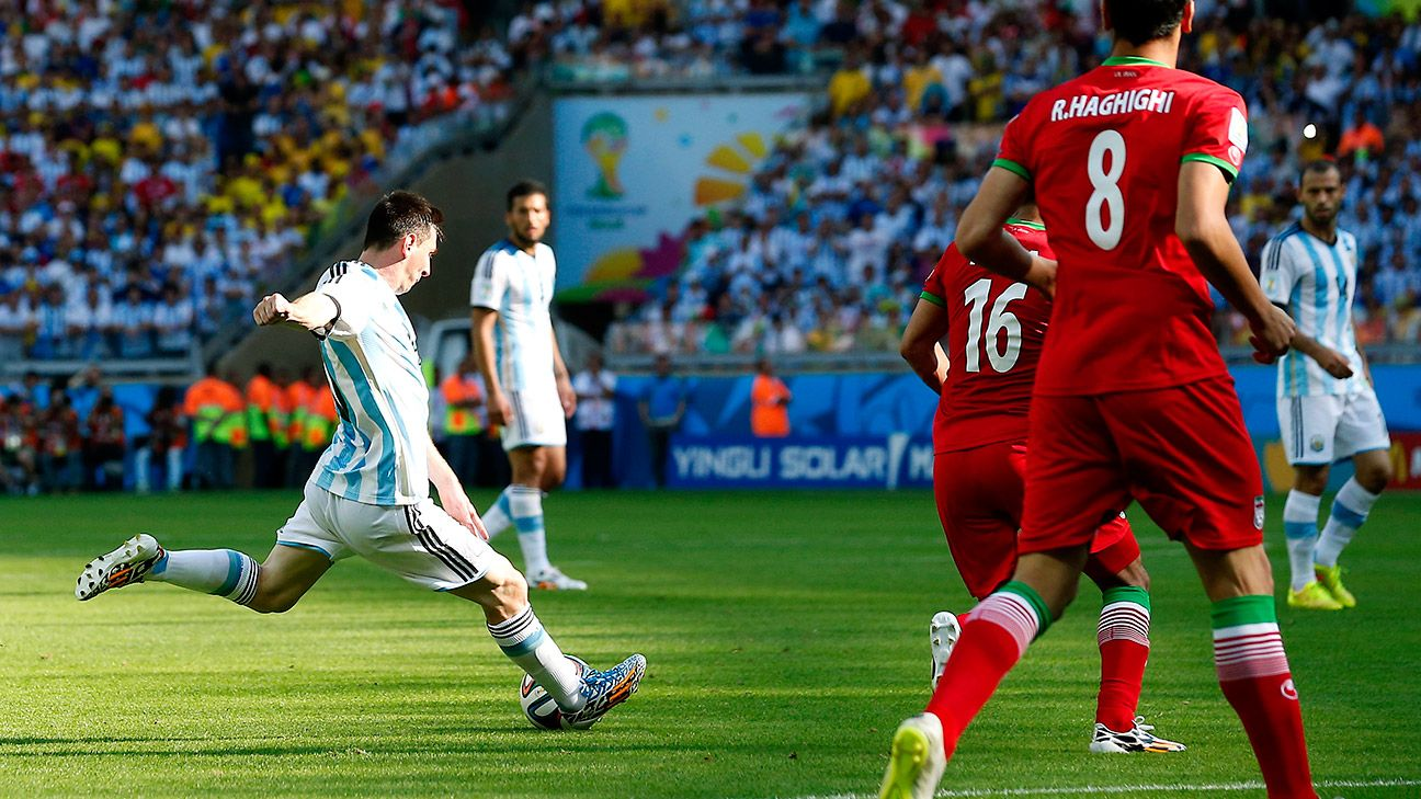 Lionel Messi's last minute golazo versus Iran was one of the standout moments of the World Cup.