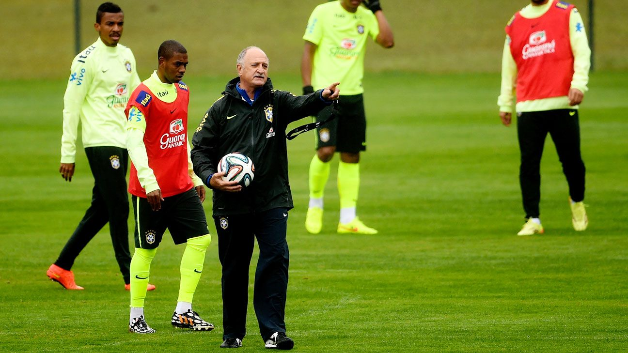 Scolari urged positivity and focus ahead of Brazil's clash with the Dutch.