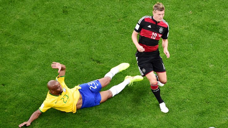 Kroos finally got his highlight moment vs. Brazil, one that confirmed his class to the world.