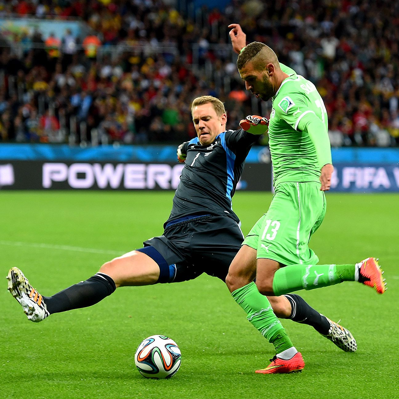 Neuer's choice to set his territory far from goal gives Germany the confidence to attack.