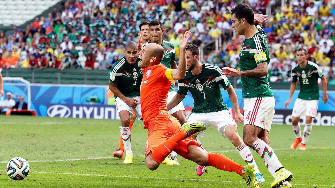 The Arjen Robben penalty versus Mexico can now be found in piñata form.